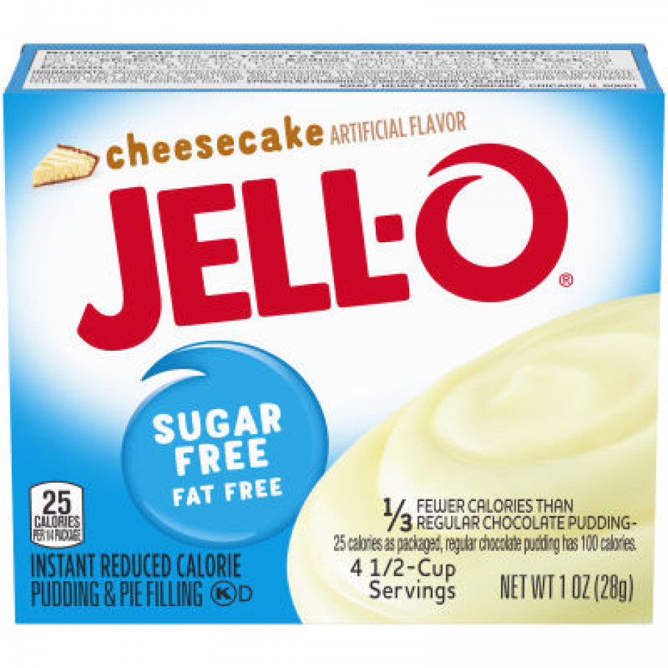 Jell-O Instant Sugar-Free Cheesecake Pudding 39GR